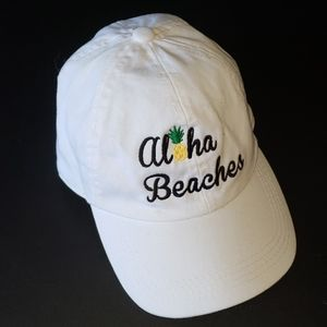 🌴 Aloha Beaches Pineapple Baseball Cap Hat